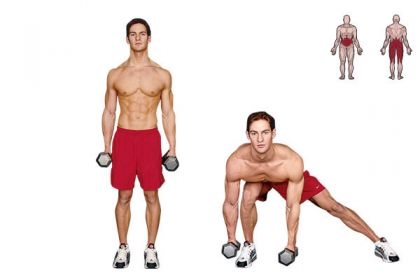 Dumbbell Side Lunge and Touch | beyond your before